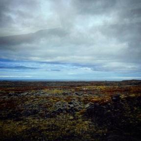 Lava fields of the Reykjanes peninsula