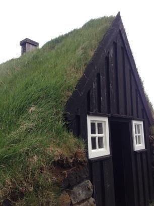 Turf house at Árbæjarsafn