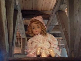 Creepy doll at Árbæjarsafn, the open air folk musuem