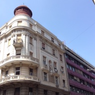 In Belgrade, Austro-Hungarian architecture frequently shares a city block with comrade communist architecture.