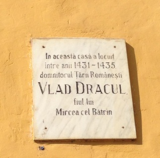Sighișoara Birthplace of Vlad Dracul