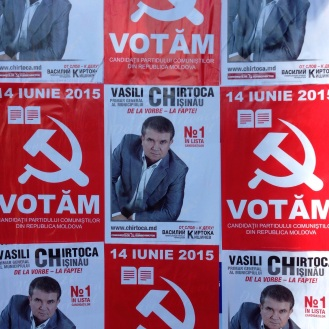 Moldova Election Posters