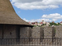 Roma (Gypsy) Hill as seen from Cetatea Soroca