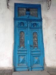 Door in Chisinau, Moldova
